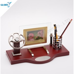 Elegant Steering Wheel Gift for Desktop Decoration