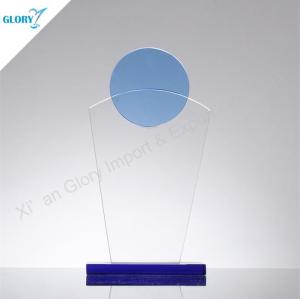 Custom Engraved Art Glass Awards for Souvenir