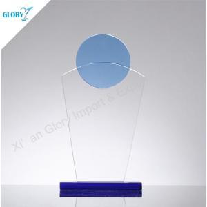 Custom Engraved Art Glass Awards for Souvenir