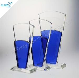 Cheap Art Glass Award Plaques for Engraving