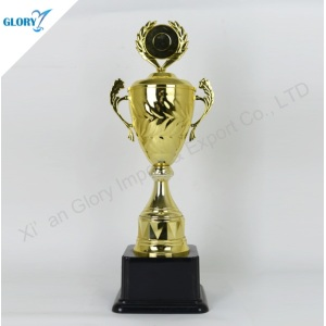 New Golden Big Plastic Trophy Cup for Sport