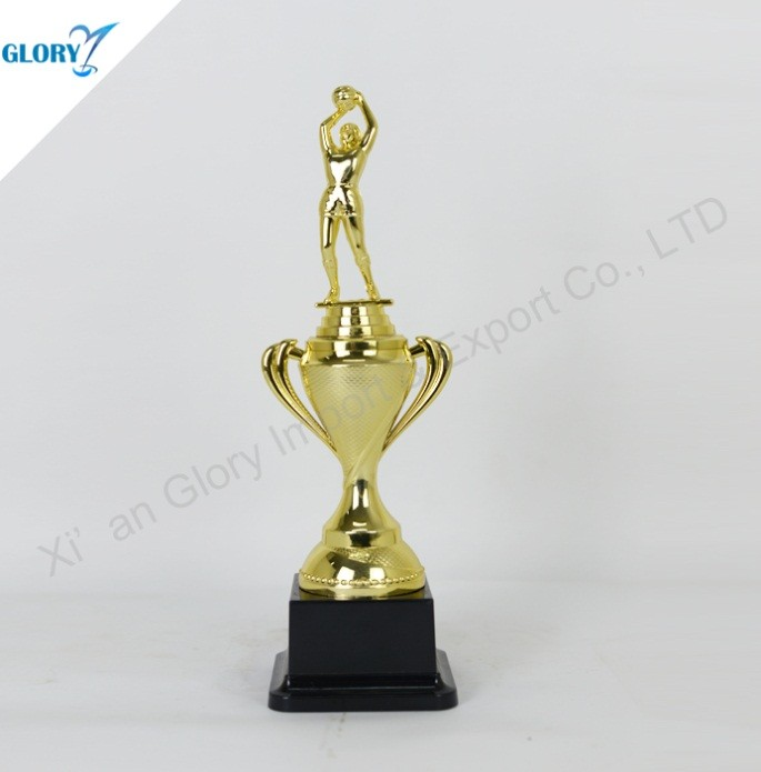 Custom Plastic Basketball Trophy for Dunk Souvenir