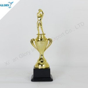 Custom Plastic Basketball Trophy for Dunk Souvenir