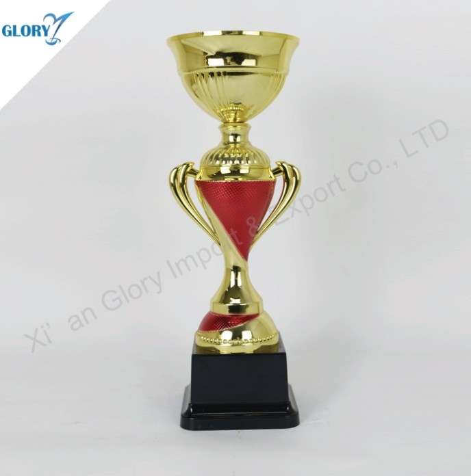 New Design Colorful Plastic Trophy Cup