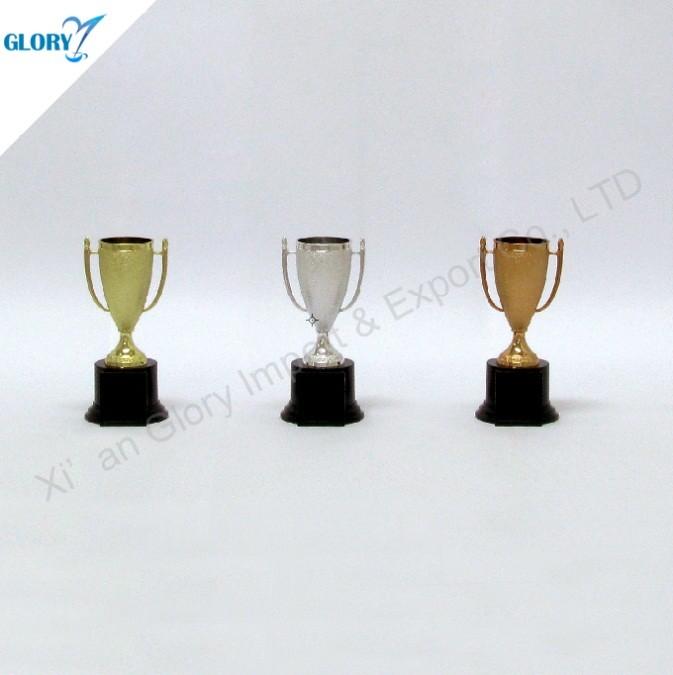 Cheap Gold Silver Bronze Plastic Trophies
