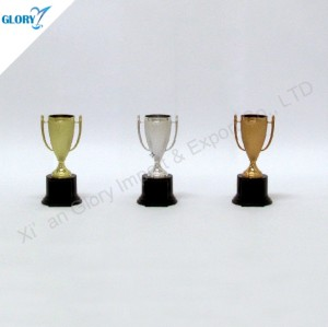 Cheap Gold Silver Bronze Plastic Trophies