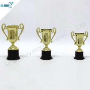Cheap Golden Plastic Sport Trophy Cup