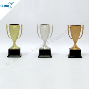 Wholesale Gold Silver Bronze Plastic Awards Trophies