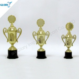 Wholesale New Golden Plastic Awards Trophy Cups