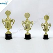 Wholesale New Golden Plastic Awards Trophy Cups