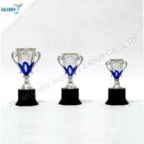 Beautiful Plastic Silver Cup Trophy for Award Show