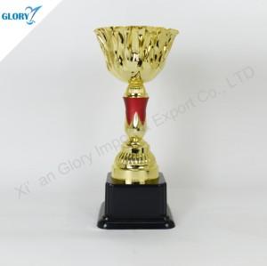Quality Golden Trophy Cup for Souvenir