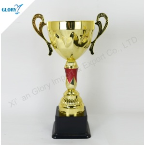 Golden Sports Cup and Trophies for Souvenir