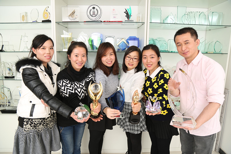 our team- gloryawardtrophy