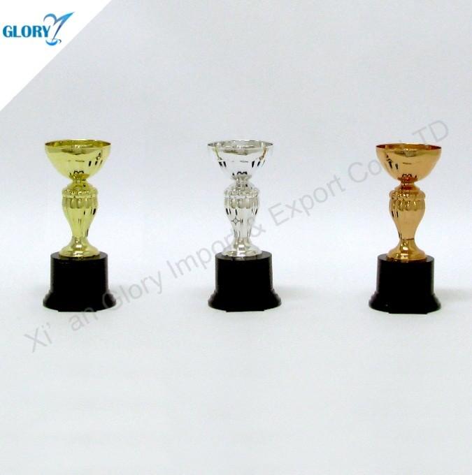 New Golden Silver Bronze Cups Trophies