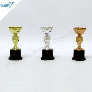 New Golden Silver Bronze Cups Trophies