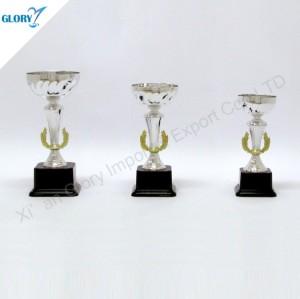 New Design Trophy Cup Silver for Souvenir