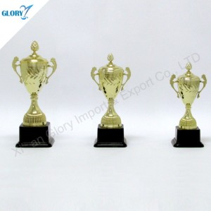 Wholesale Golden Cup Theme Awards Trophies