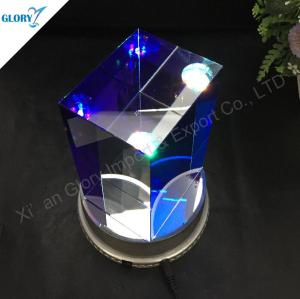 Custom Elegant Crystal Glass Cube