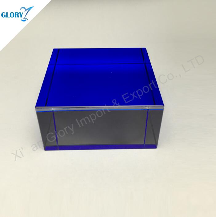Wholesale Sided Baking Blue Crystal Cube