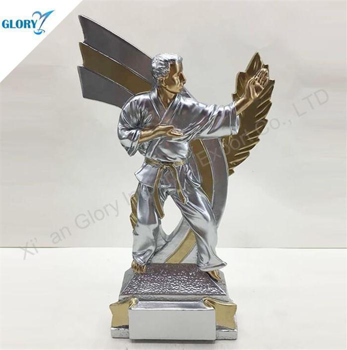 Wholesale Resin Karate Trophies in China