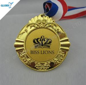 Custom Golden Award Medals for Souvenir