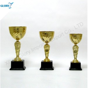Quality Golden Awards Trophy Cup for Souvenir