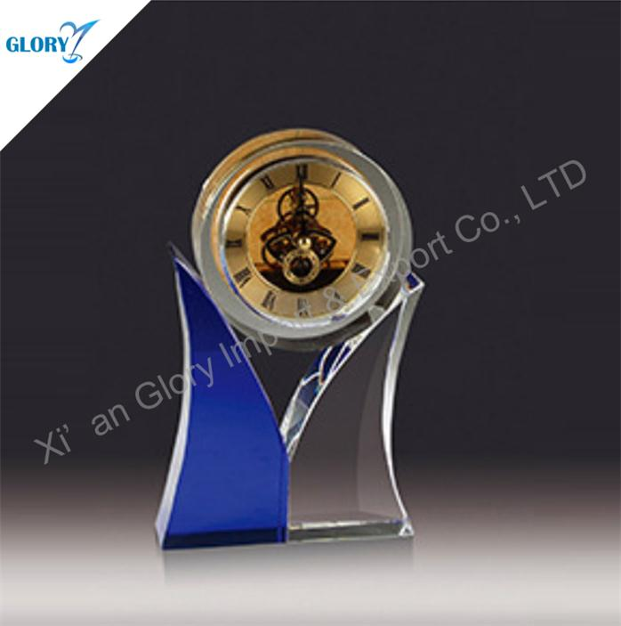 New Design Desktop Gift Crystal Clocks