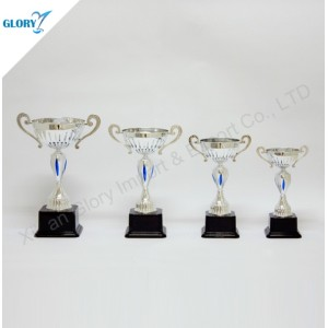 Wholesale Quality Silver Trophies with Black Base