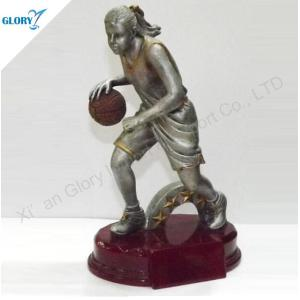 Wholesale Resin Basketball Trophies for Girls