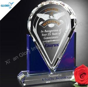 New Design Crystal Awards Engraved for Souvenir