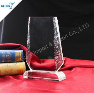 Wholesale Blank Crystal Trophy Awards for Engraving