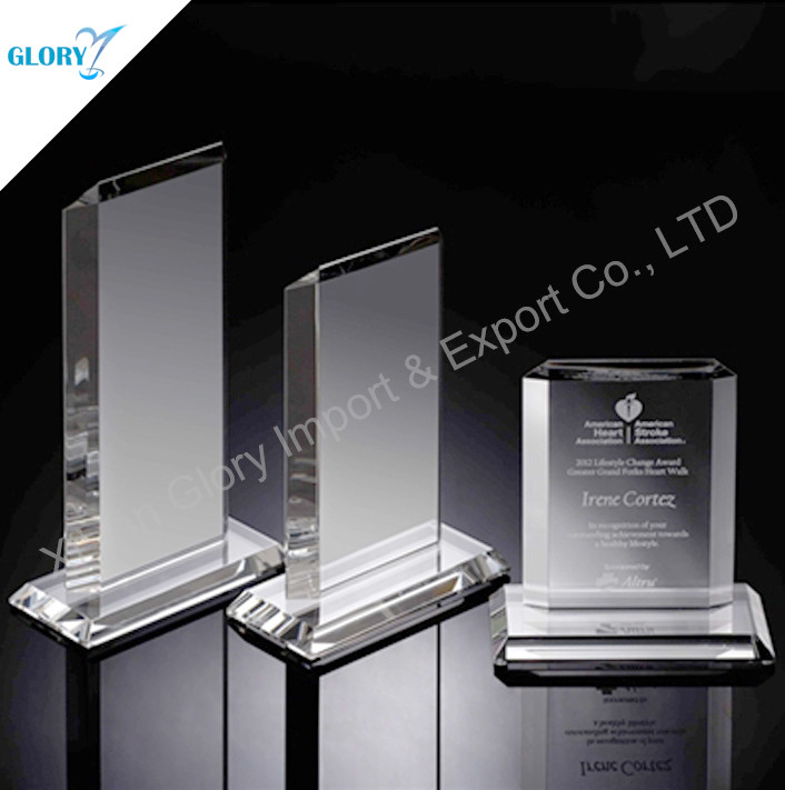 Crystal Award placas