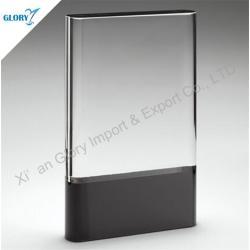 Venta al por mayor trofeos de cristal ópticos para el recuerdo