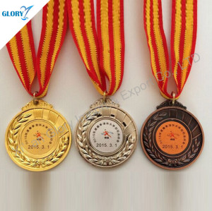 Wholesale Gold Silver Bronze Award Cheap Medals