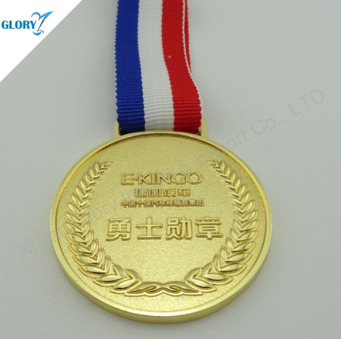 Quality Golden Customized Medals for Souvenir