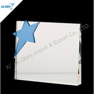 Quality Blue Crystal Star Trophies for Wholesale