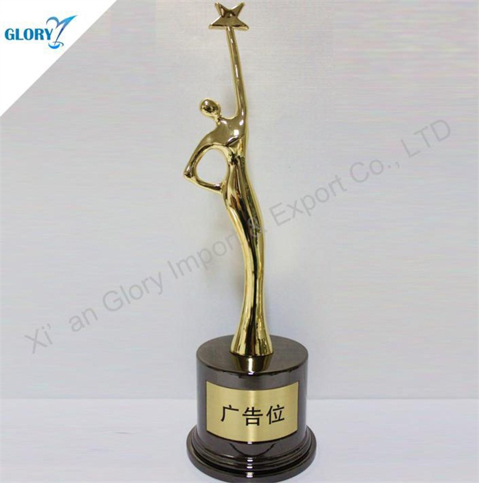 Supplier Elegant Star Woman Awards and Trophy