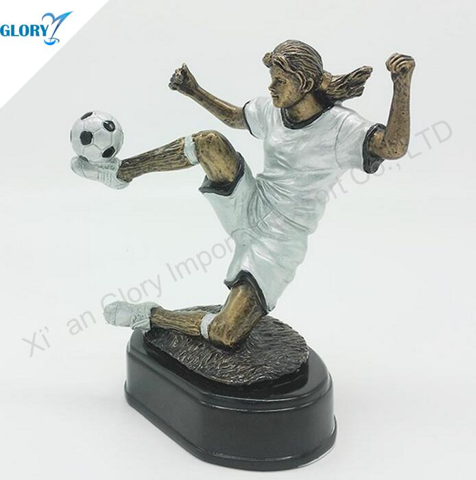 Wholesale Resin Soccer Trophies and Medals