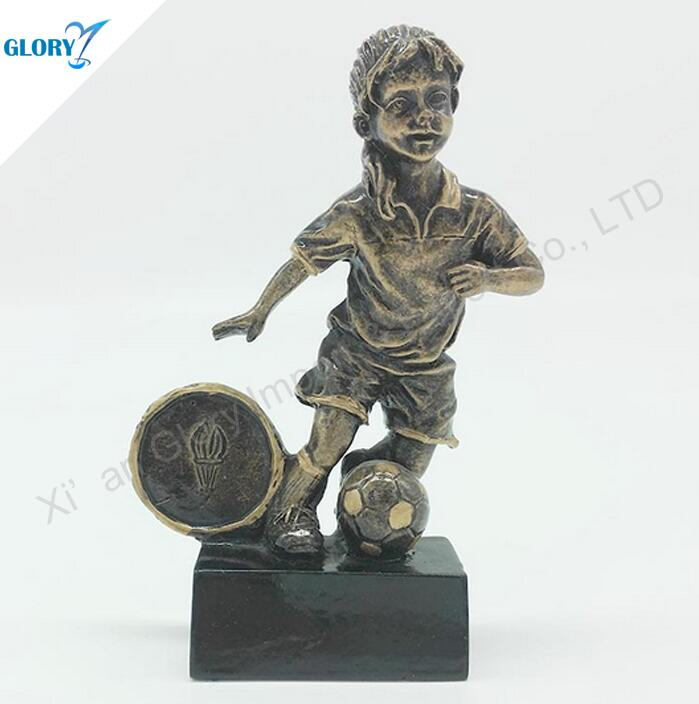Personalized Cheap Football Trophies for Kids