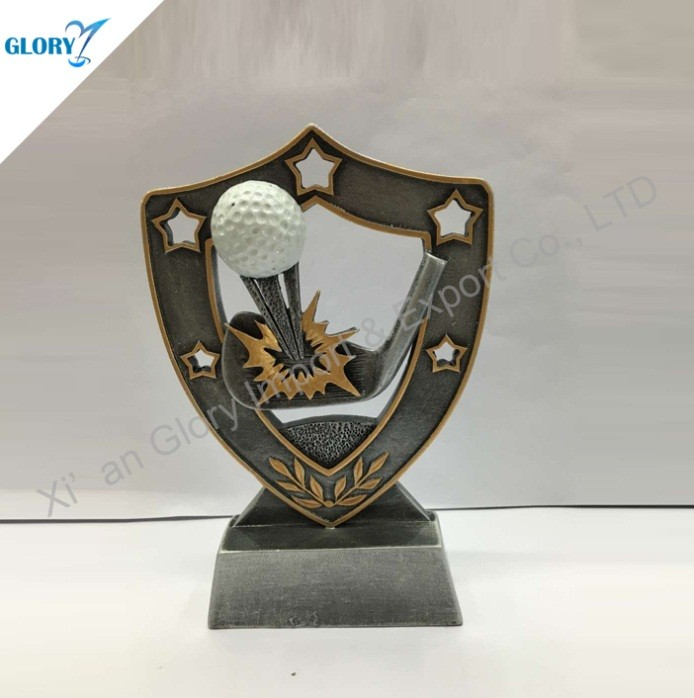 Golf Themed Gifts Resin Sports Medals and Trophies