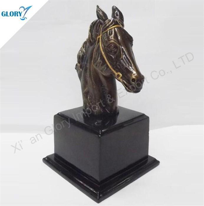 Quality Award Resin Horse Figurines for Souvenir