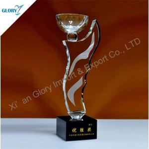 Quality K9 Crystal Trophy Cup Award Suppliers for Souvenir