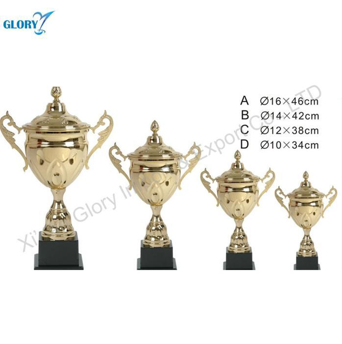 Quality Golden Perpetual Metal Student Trophy Cup in China