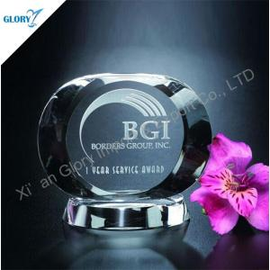 China Customized Clear Crystal Awards Trophies