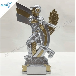 Fantasy China Resin Figures Baseball Trophies