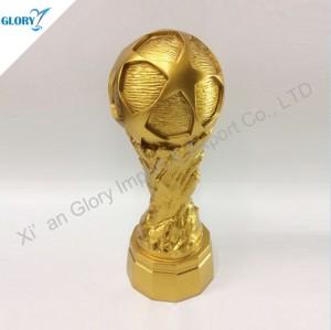 Fantasy Color Polyresin Sport American Football Trophies