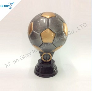 Quality Soccer Football Resin Trophies