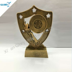 Wholesale Fantasy Torch Resin Trophies for Souvenir