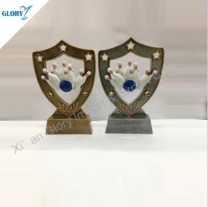 Cheap Ten Pin Bowling Ball Trophy for Award Gift